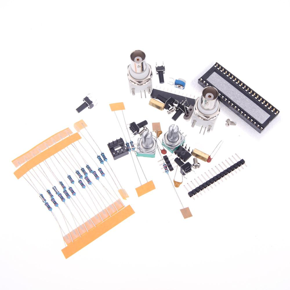 Diy electronic kit dds function signal generator adjustable provided lots of electronic components for you to do it by yourself simple circuit with easily accessible and cheap components solutioingenieria Images