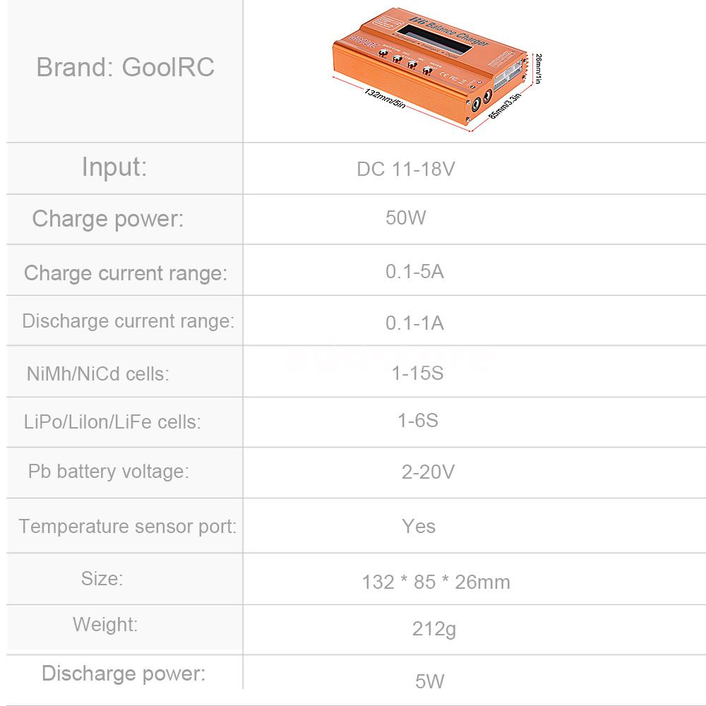 goolrc b6 multi discharger for